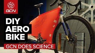 GCN's DIY Aero Road Bike –It's Free, But Is It Faster?