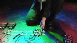 Basix und VoiceTone Correct, Erstellen, Double und Harmony-G vocal-Effekte Pedale