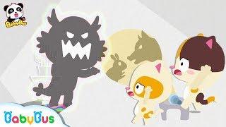 *NEW*무서운 대왕 괴물이다~!|아기고양이 도망가요|나쁜 늑대|색깔송|베이비버스 인기동요|BabyBus