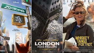 AJ's Movie Reviews: Zootopia, London Has Fallen & Whiskey Tango Foxtrot(3-4-16)