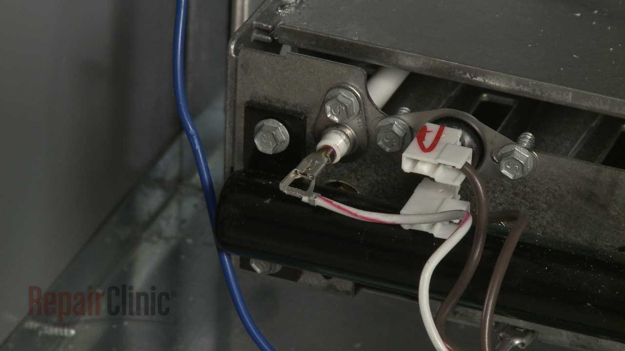 Lennox Furnace Flame Sensor Replacement #69W43 - YouTube