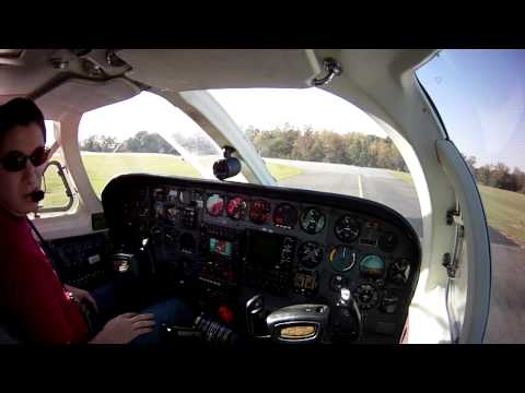Cessna 340 - Startup, Departure, and Climb