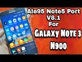 Samsung Galaxy Note5 (USA) Custom ROM Videos - Waoweo