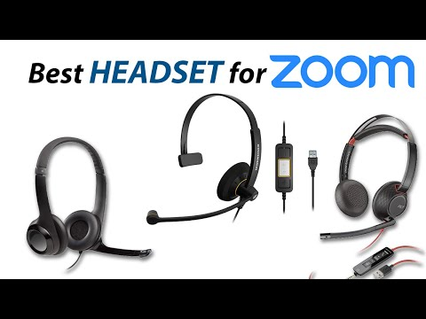 Best Headset with Microphone for Zoom 2020