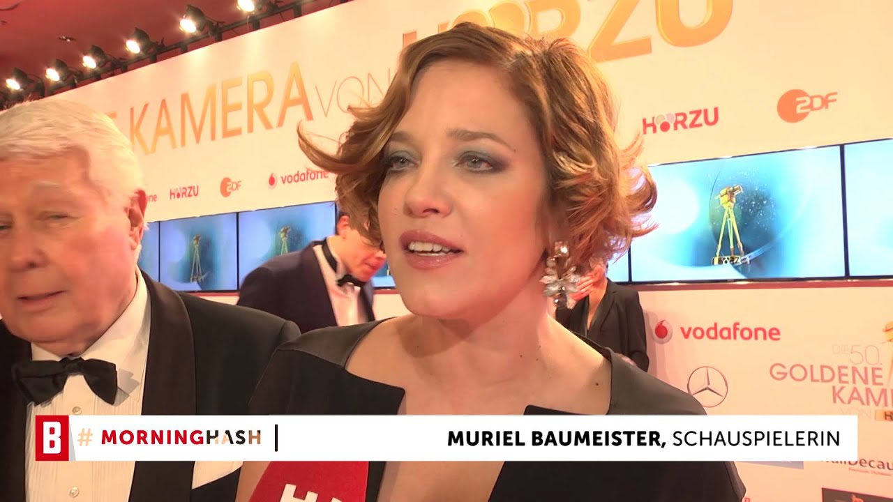 BUNTE TV - MorningHash: Muriel Baumeister -