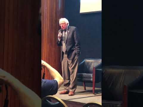 Bernie Sanders - Kickoff of Saving Capitalism Netflix film at The National Press Club