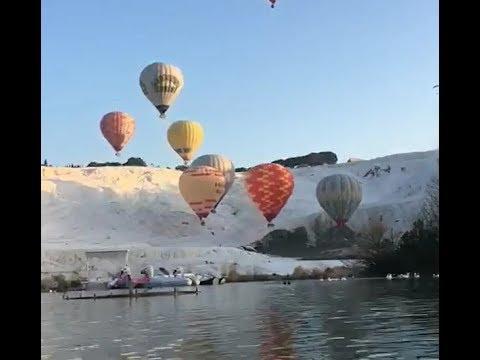 Pamukkale Balon Uçuşu