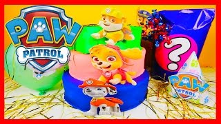 paw patrol birthday cake pj masks trivia peppa pig spiderman finding dory toy surprises balloons
