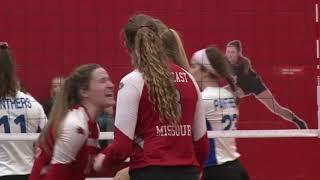 SEMO Volleyball | Redhawks power past Eastern Illinois 3-1 - Nov. 3, 2018