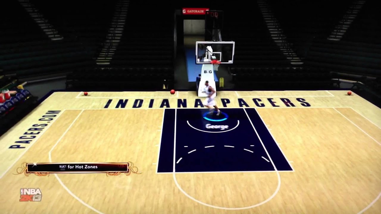 NBA 2K13 - Paul George Jumpshot Configuration - YouTube
