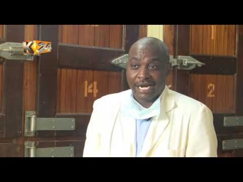 ANCHOR AND A MORTICIAN: K24 news anchor Eric Njoka also doubles up as mortician