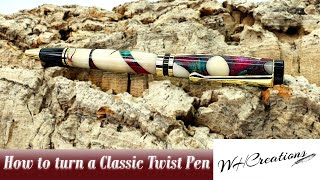 Instructional Video How To Turn A Classic Twist Pen Kit