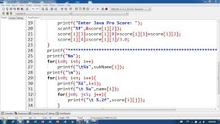 52. Array Project in C Programming | Khmer Computer Knowledge