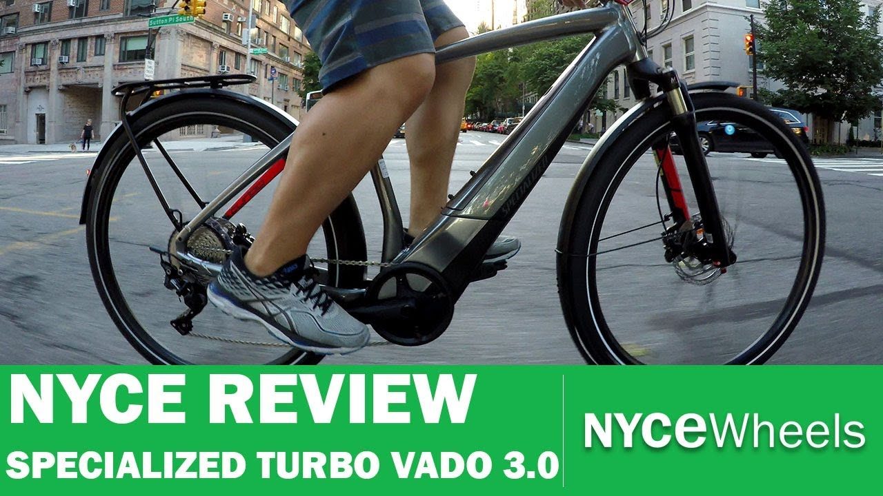 Specialized Turbo Vado 3 0 Speed Pedelec Electric Bike Review