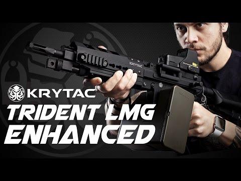 The Krytac LMG-Enhanced - RedWolf Airsoft RWTV