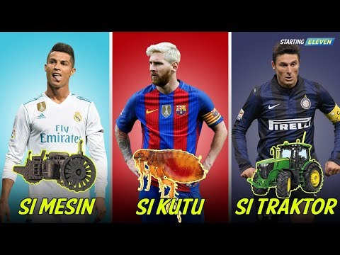 Julukan Pemain Sepak Bola Di Dunia Super Konyol ● GOKIL SOB ● Starting Eleven