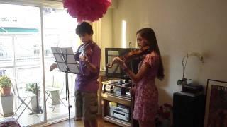 dúo violín / Handel - Water Music - Alla Hornpipe
