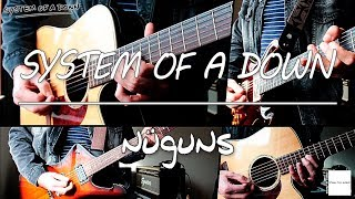System Of A Down - Nüguns (guitar cover w/ tabs in description)