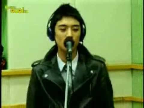 Seung Ri - Strong Baby Live [radio] [01.15.09]