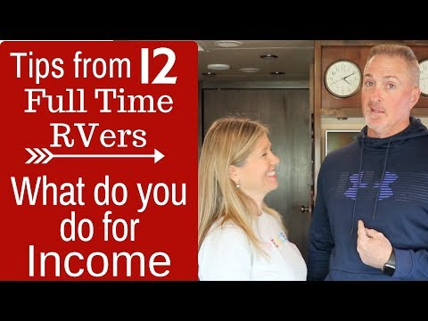 Making Money Full Time RVing (HOW THEY DO IT)