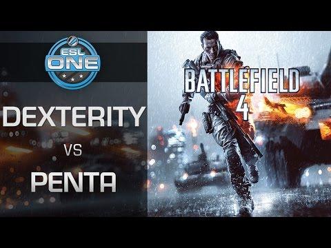 Battlefield 4 - Dexterity vs. PENTA - ESL One gamescom 2015 Summer Finals - Group B
