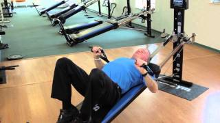Total gym chest exercises strengthen both chest and core total gym