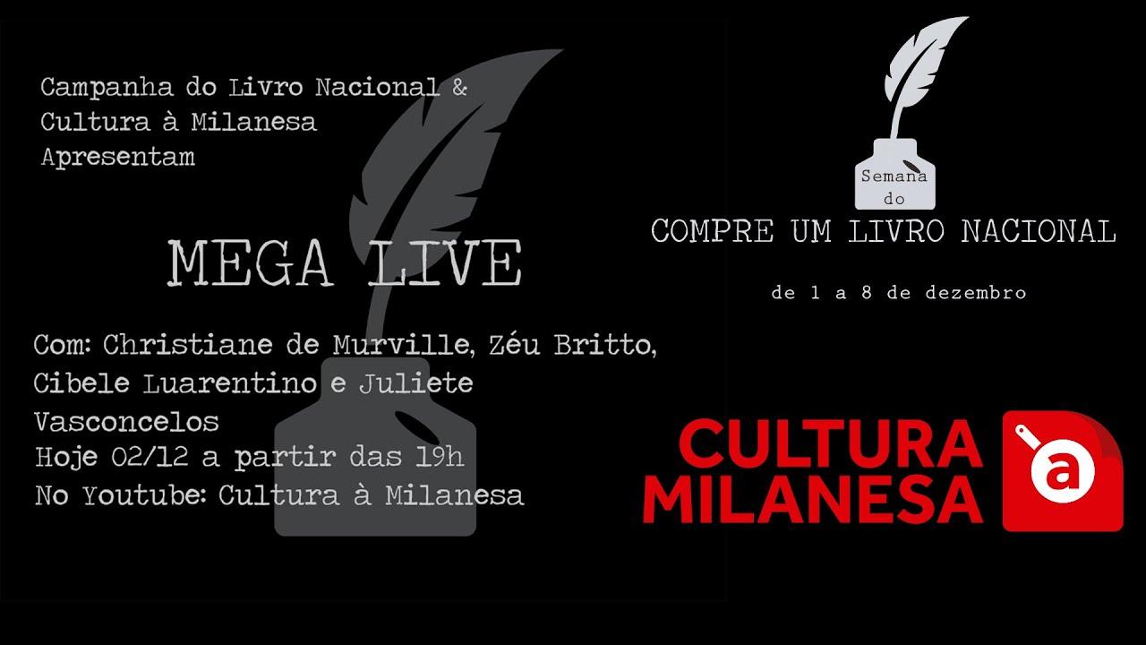 MEGA LIVE CAMPANHA LIVRO NACIONAL
