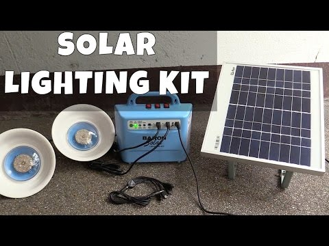Baron Solar Lighting Kit