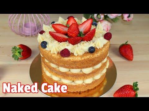 Naked Cake de Brigadeiro de Leite Ninho | Como Fazer Naked Cake de Brigadeiro de Leite Ninho