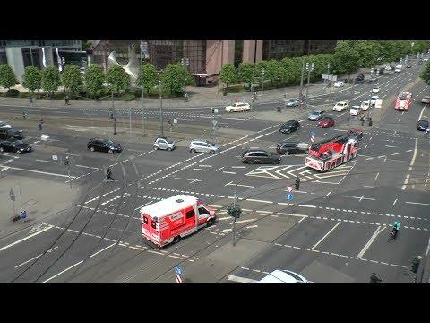 [LIVE] EINSATZFAHRTEN Frankfurt am Main | Blaulicht GARANTIEKREUZUNG Platz der Republik