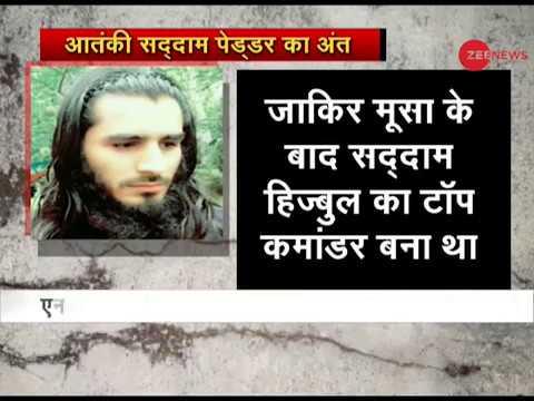 Five terrorists killed in Shopian encounter including top Hizbul Mujahideen commander