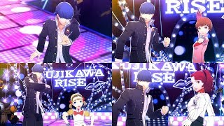 Persona 4: Dancing All Night - Time To Make History (Video w/ All Partners)