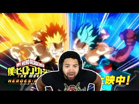 I WATCHED EVERY MY HERO ACADEMIA HEROES RISING TRAILER!