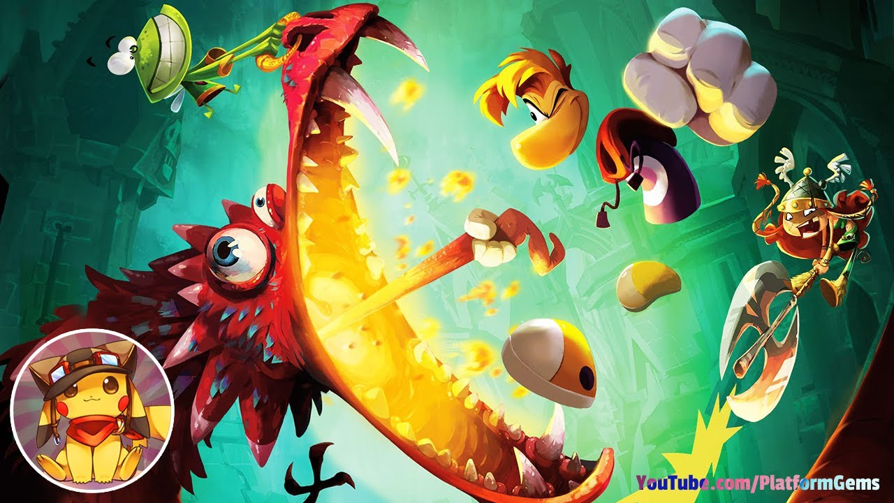 Download Rayman Legends - Full Game Walkthrough (Longplay) [1080p] No commentary