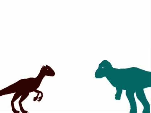 ASDC - Guanlong vs Pachycephalosaurus