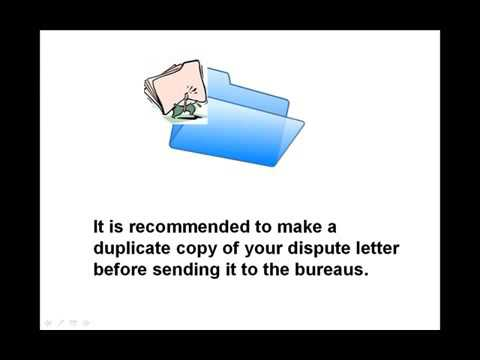How to write a credit dispute letter youtube how to write a credit dispute letter ccuart Choice Image