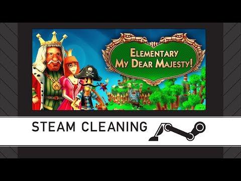Steam Cleaning - Elementary My Dear Majesty!  