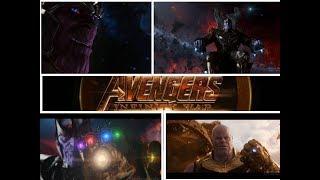 Thanos All badass Scenes in MCU (4K) | Infinity war |  Marvel Studios