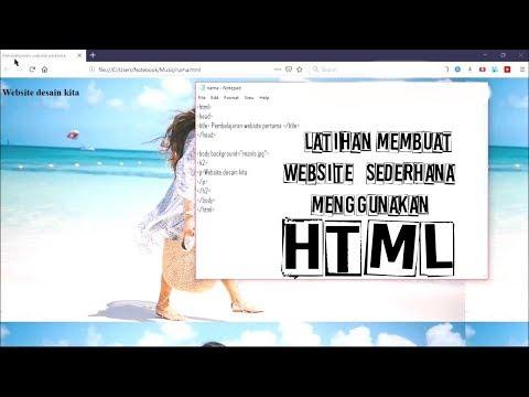 cara-membuat-website-sederhana-menggunakan-html
