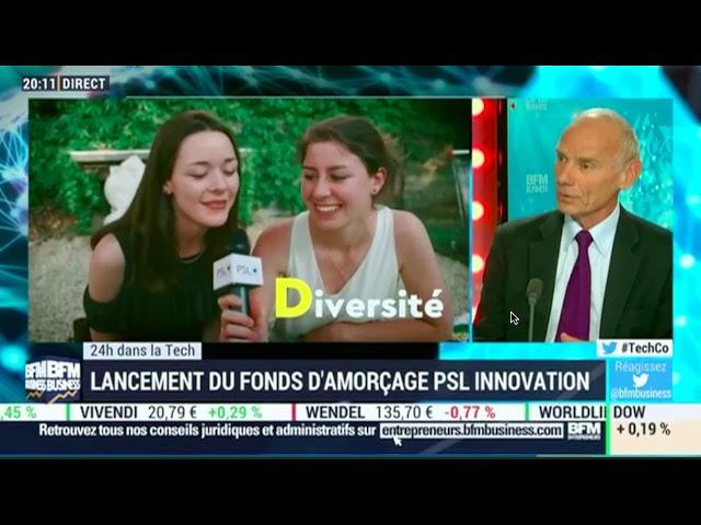 Lancement du PSL Innovation Fund