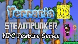 Terraria Feature Series: The Steampunker NPC (new npcs tutorial)