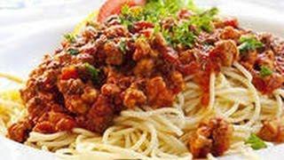 Готовим вместе:(Спагетти под соусом Болоньезе)!