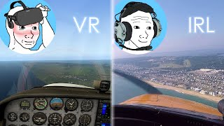 Can You Learn to Fly from VR Flight Sims??? (Oculus Rift VR + X-Plane 11 Flight Simulator)