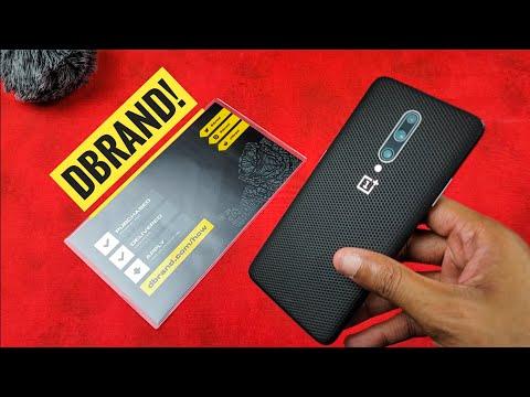 dbrand OnePlus 7 Pro Matrix Skin Installation and Review!