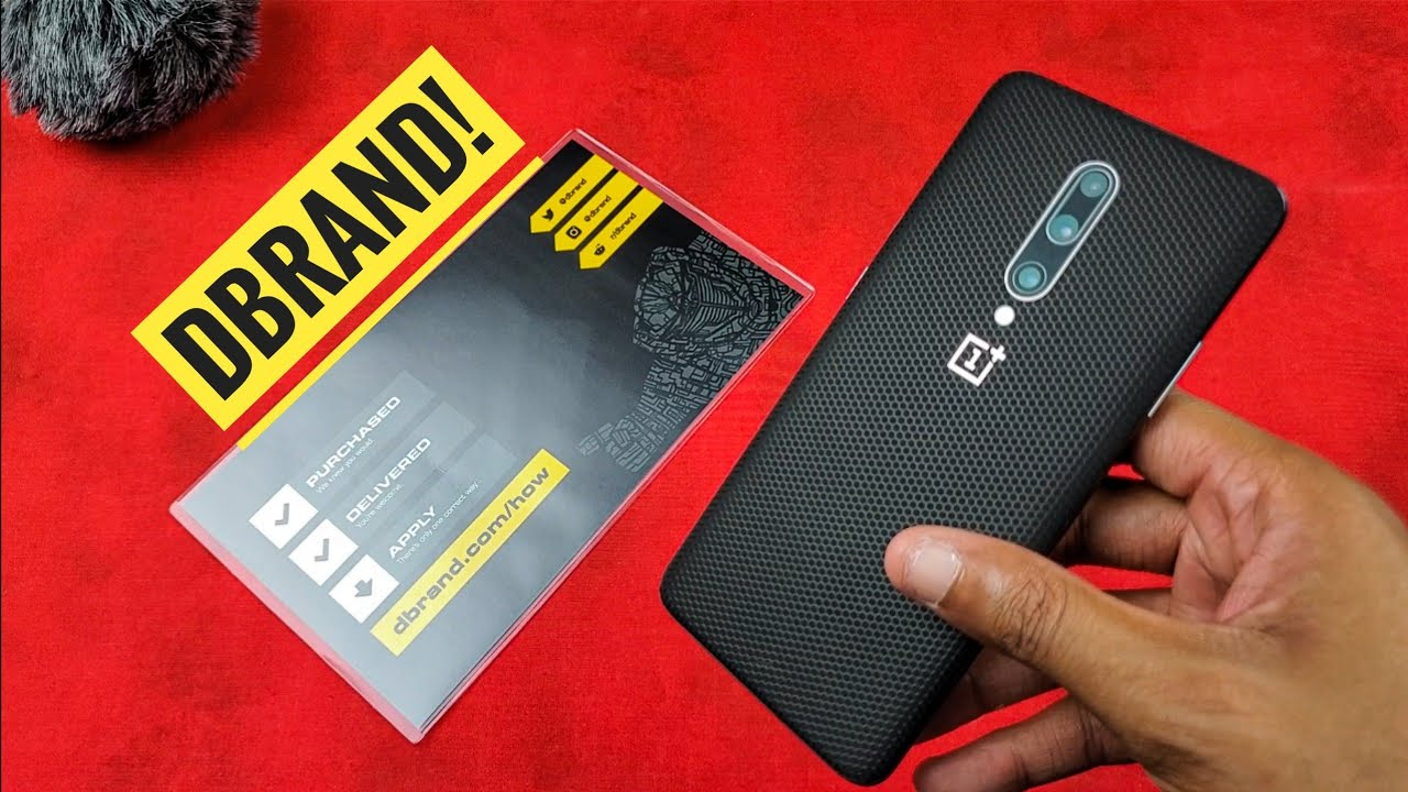 Dbrand Oneplus 7 Pro Matrix Skin Installation And Review Youtube