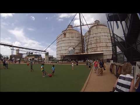"""GoPro Hero HD: Visiting Magnolia Market Waco, Texas"" (Chip & Joanna Gaines Fixer Upper)"