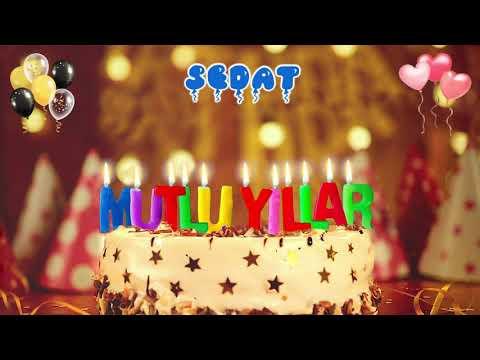 İyi ki doğdun SEDAT doğum günün kutlu olsun, Mutlu Yıllar Sedat, İsme Özel Doğum Günü Şarkısı indir