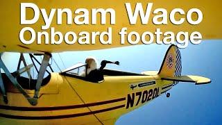 Onboard my Dynam Waco