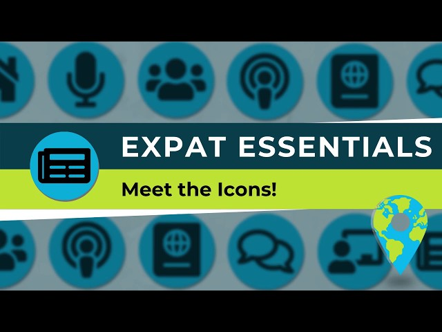 TCI - Meet the Icons - Expat Essentials