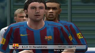 Pro Evolution Soccer 5 - 2005 - FC Barcelona  VS  Chelsea F.C. (PC)
